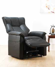 black rise and recline back